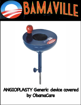 Angioplasty: Generic device owned by ObamaCare