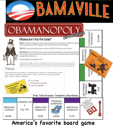 Obamanopoly: America's favorite board game!
