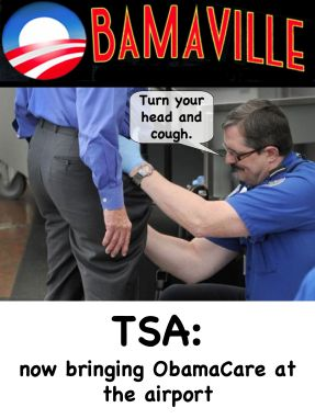 Obamaville: Our lips our sealed, love TSA!