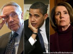 Reid, Obama and Pelosi
