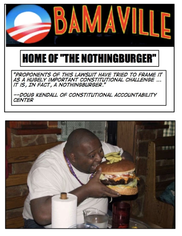 Obamaburger, Obamaburger