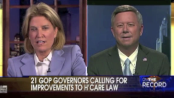On The Record with Greta Van Susteren hosts NE Governor Dave Heineman (R)